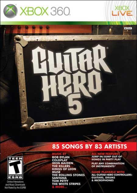 Guitar Hero 5 [XBOX360]