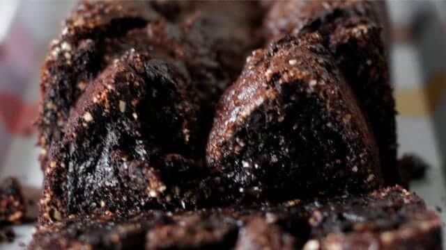 Brownie com pedacinhos de castanha do Brasil