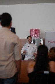 Delicias feitas no microondas oferecido pela LG e Ministrado pelo Chef divertidissimo Rodrigo Saraiva