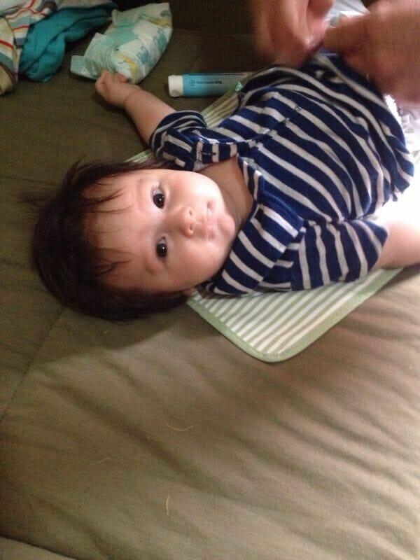 Joaquim e seus três meses