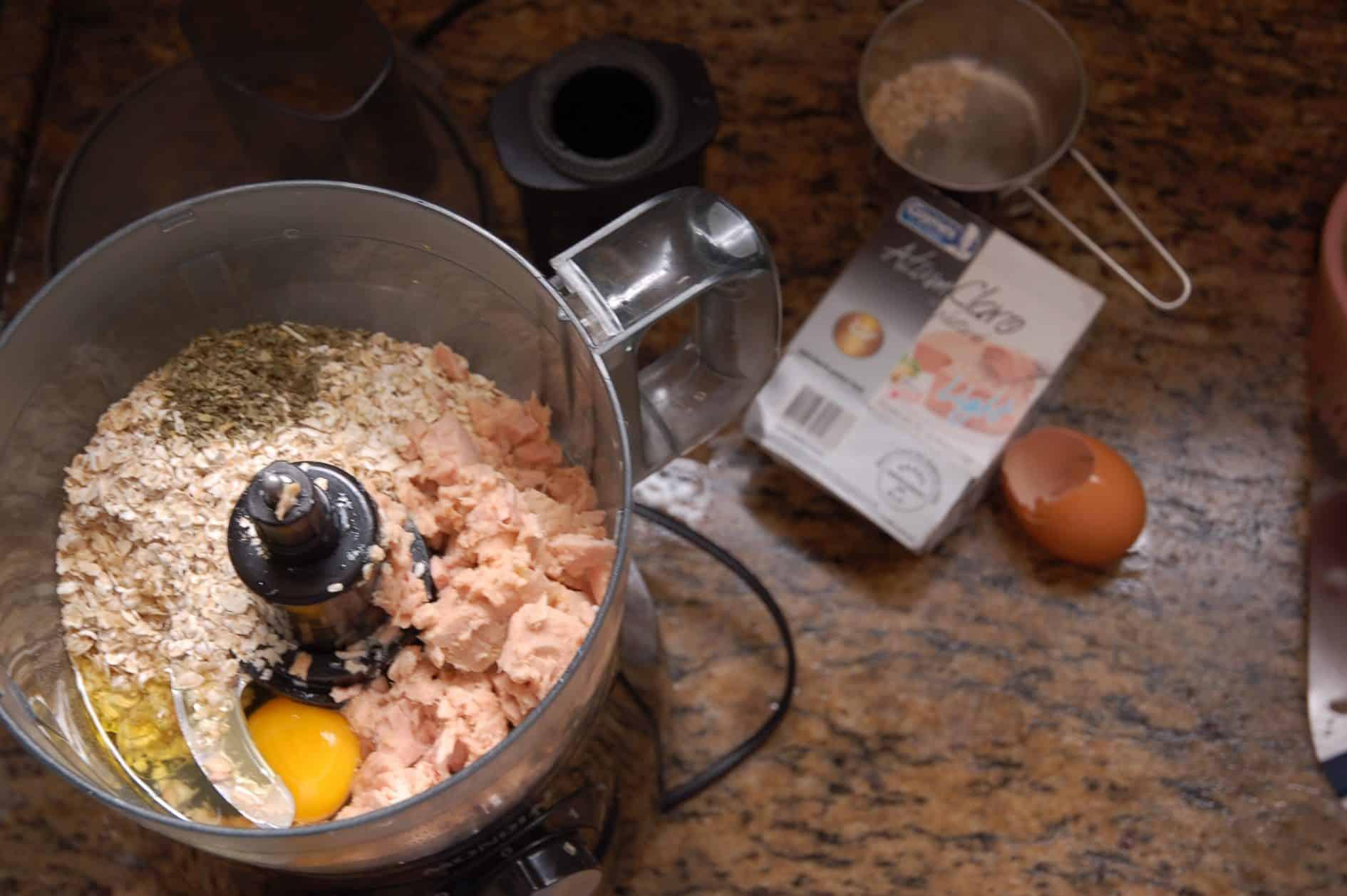 Petiscos de Atum - Ingredientes
