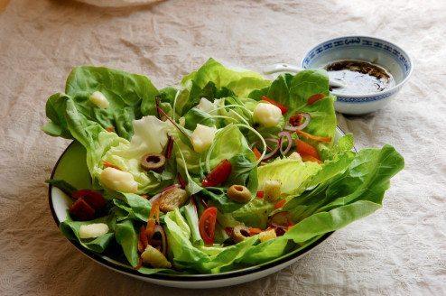 Receita de salada verde
