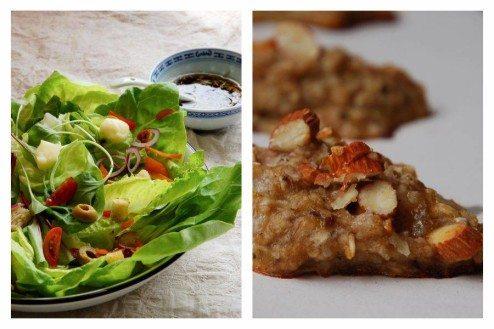 receita de salada com croutouns