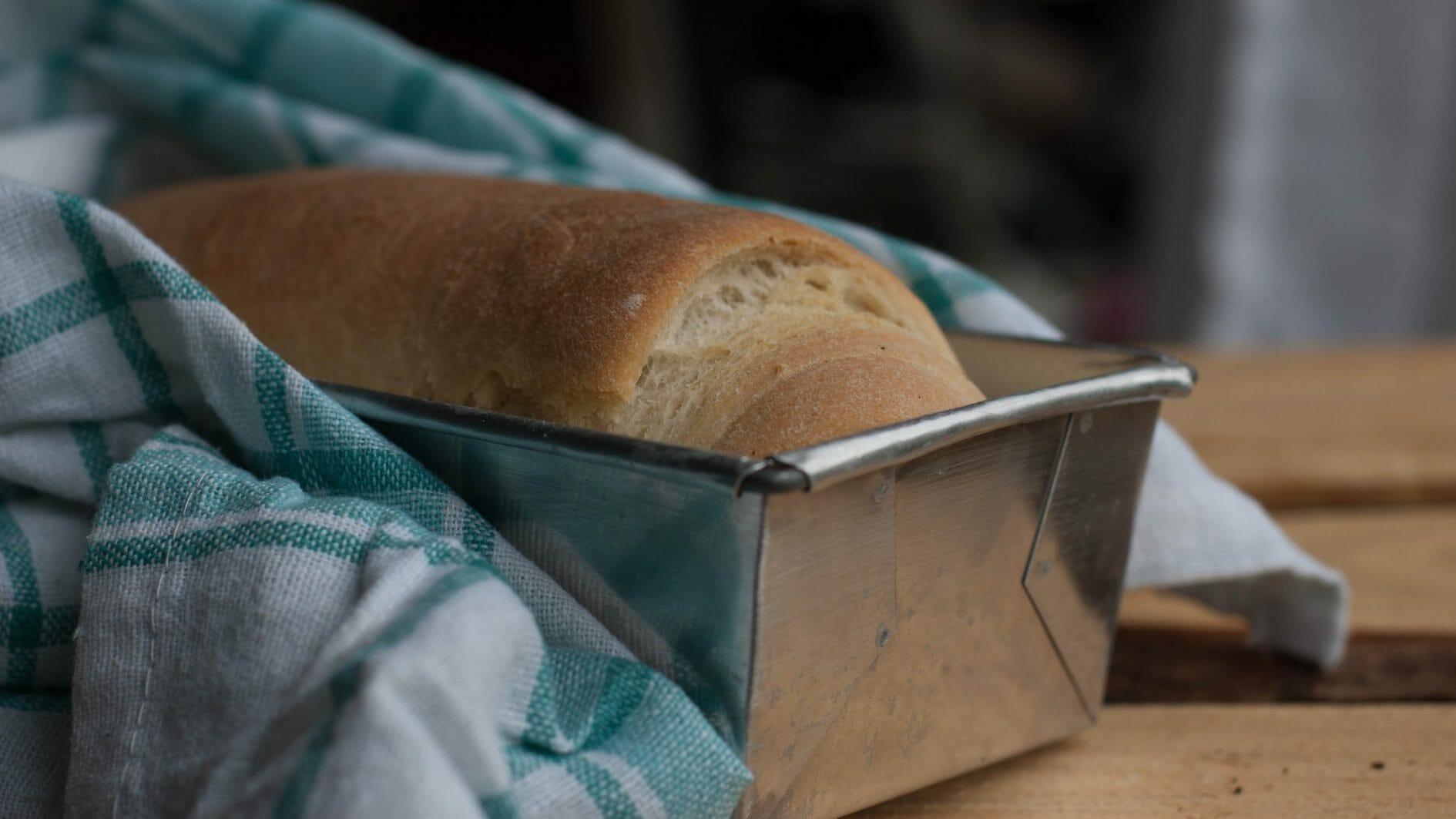 receita de pão vegano