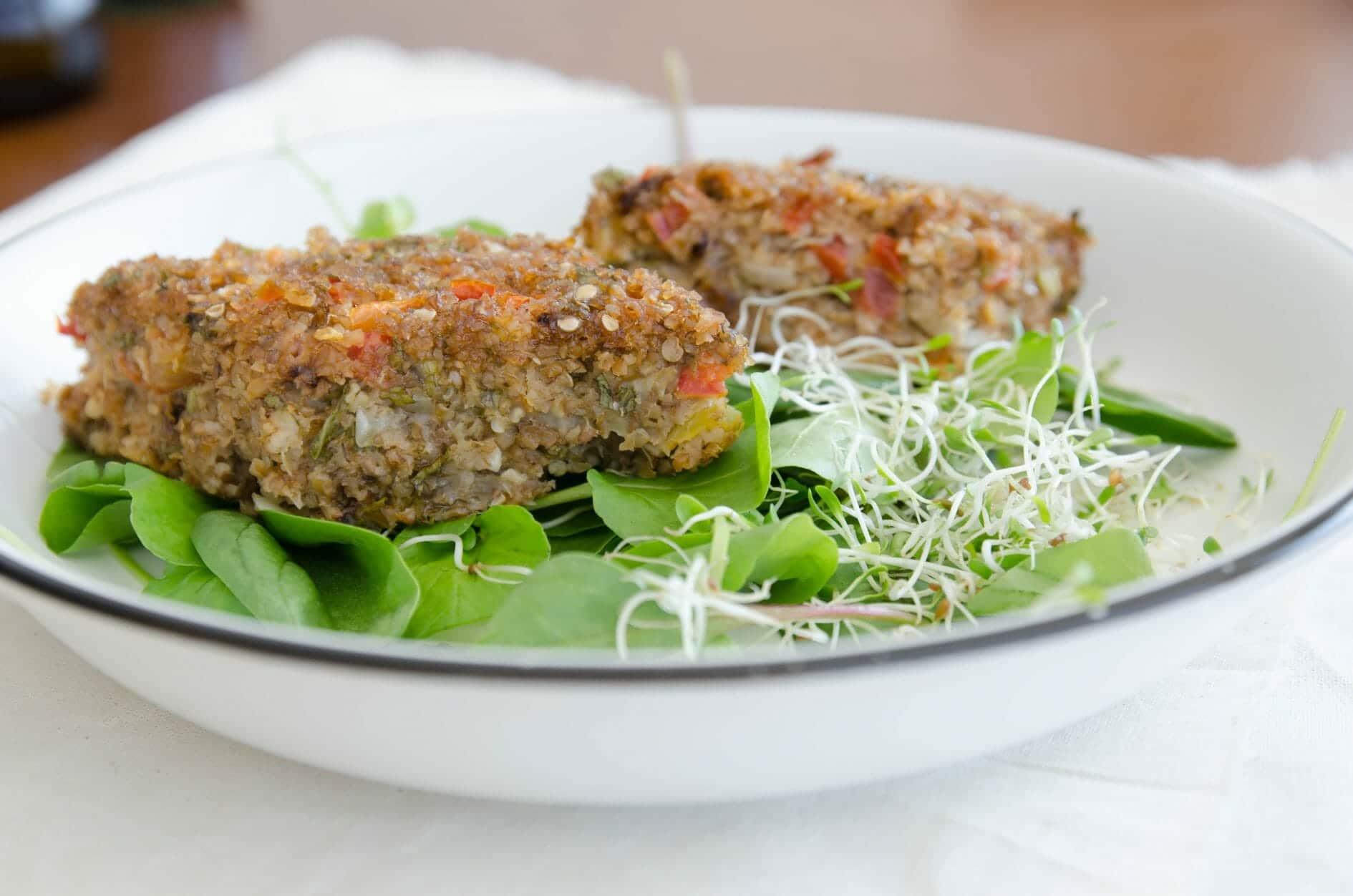 Kibe de berinjela vegano (de forno)