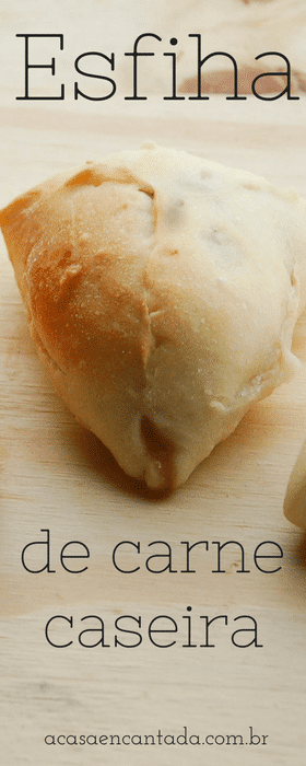Receita de esfiha de carne caseira - massa fofinha e fácil de congelar!