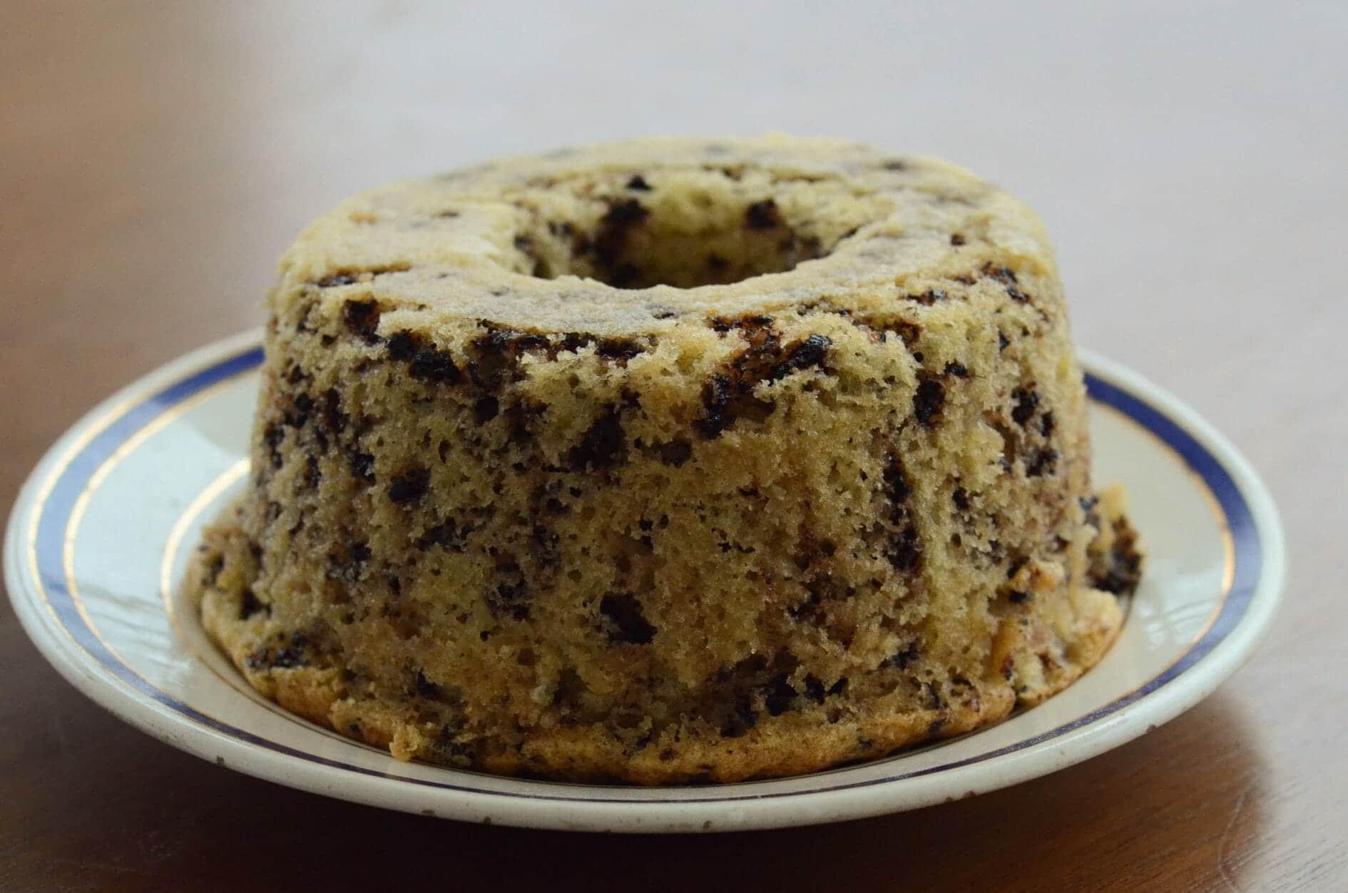 Receita de bolo formigueiro (bolo de coco com chocolate granulado meio amargo)