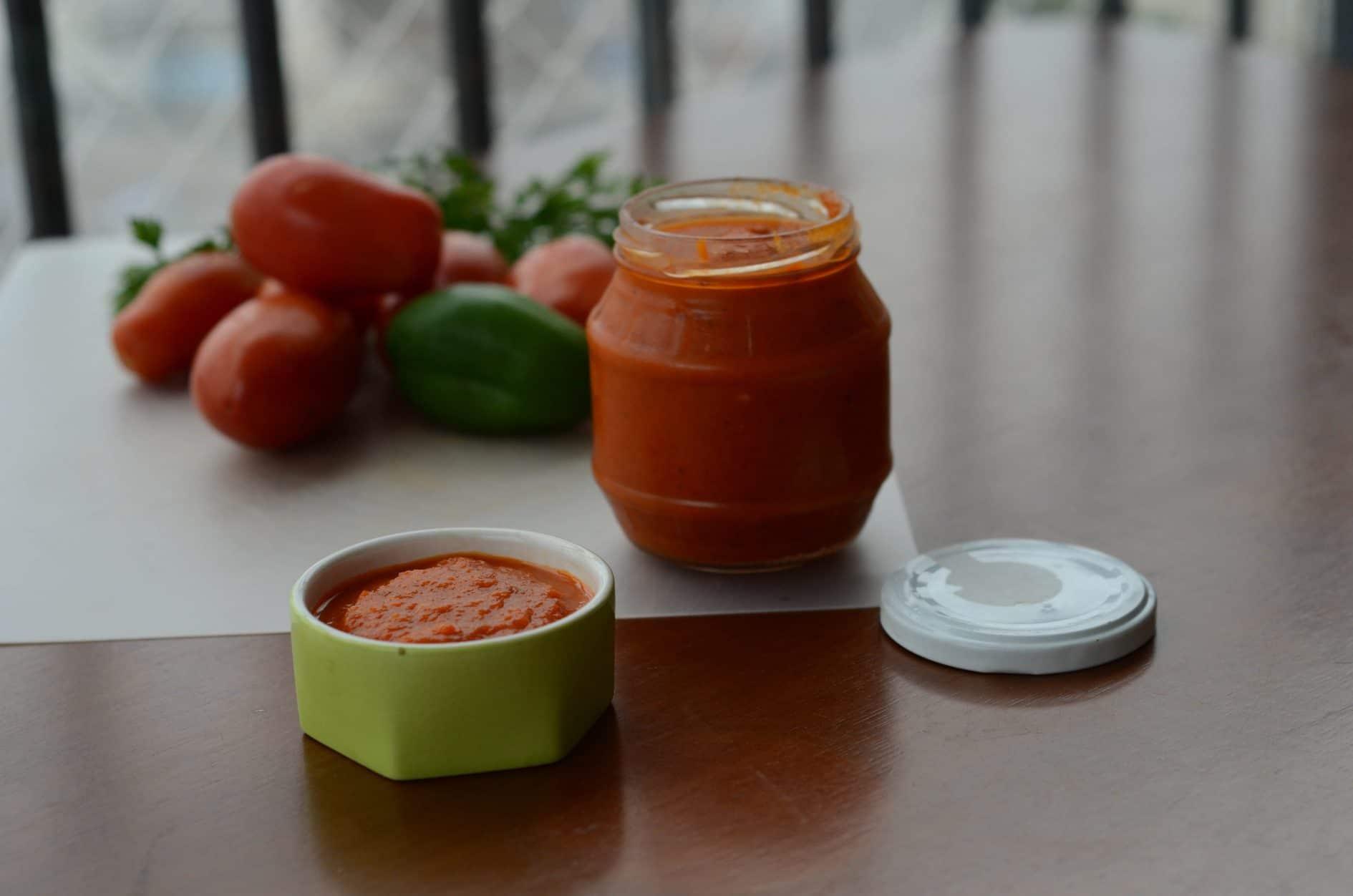 receita de molho de tomate caseiro, otimo para congelar