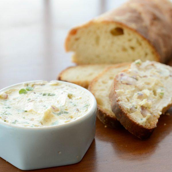 receita manteiga de manjericao