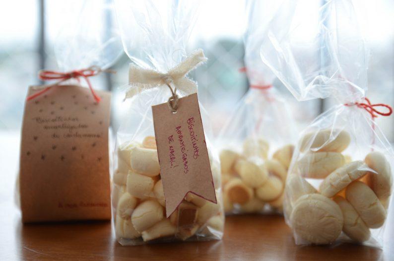 biscoitinho de maizena - presente de natal feito em casa