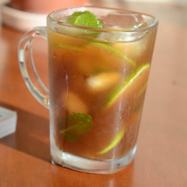receita de chá mate gelado com limao