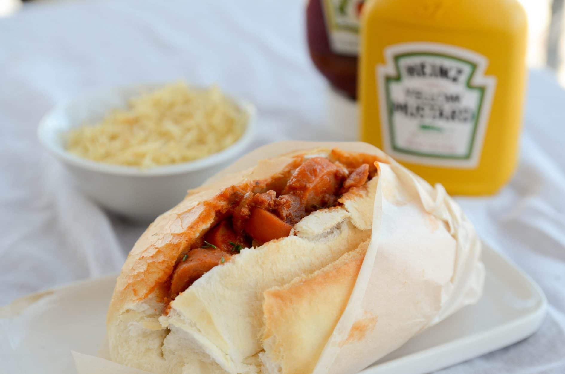 Molho de cachorro quente – refeições congeladas