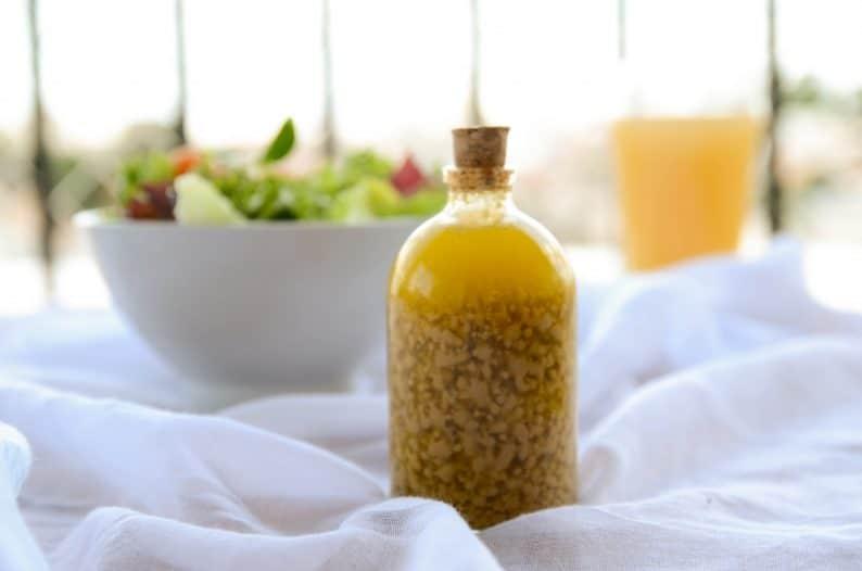 receita de molho para salada mostarda amarela e mel