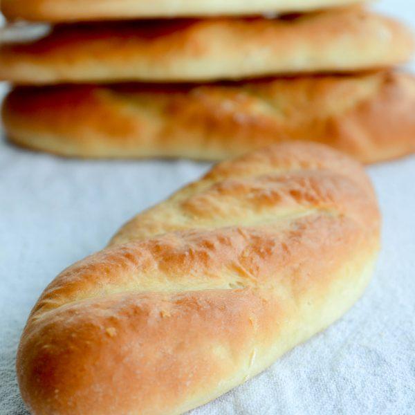 receita de pão de sanduíche do subway com casquinha dourada