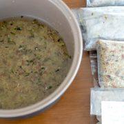 como congelar arroz integral
