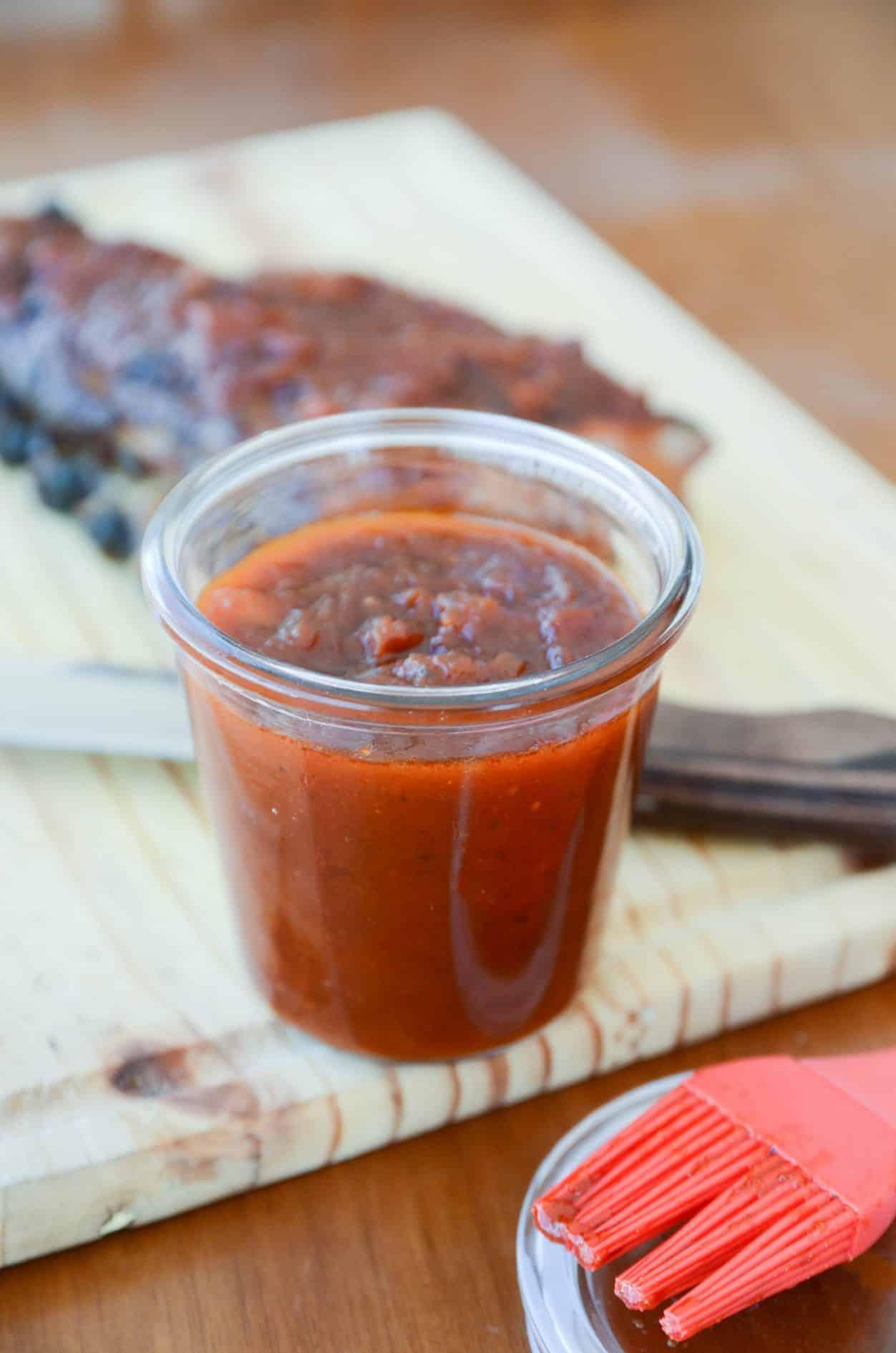 receita de molho barbecue fácil, molho perfeito para a costelinha de porco