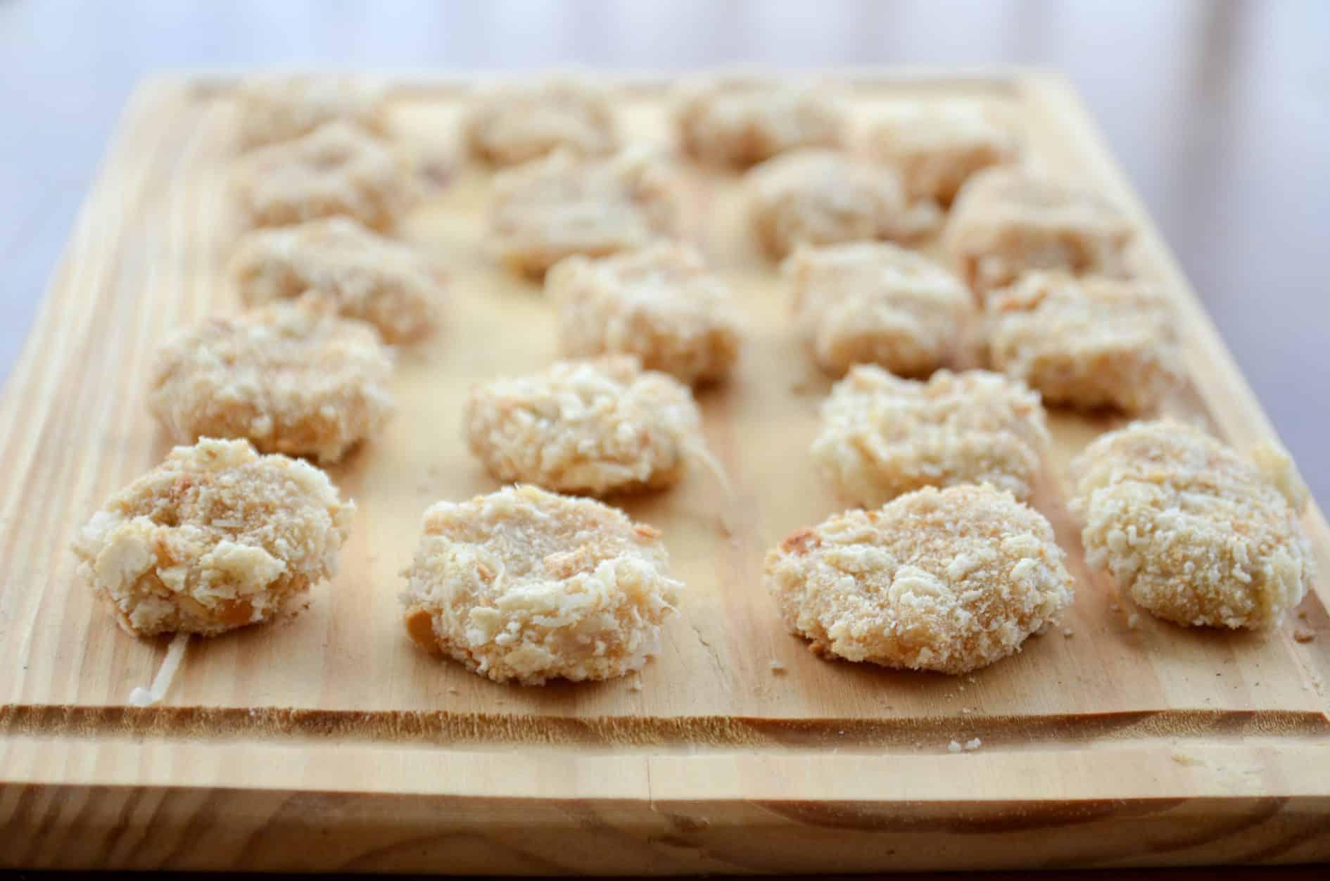 receita de nuggets de frango feito em casa