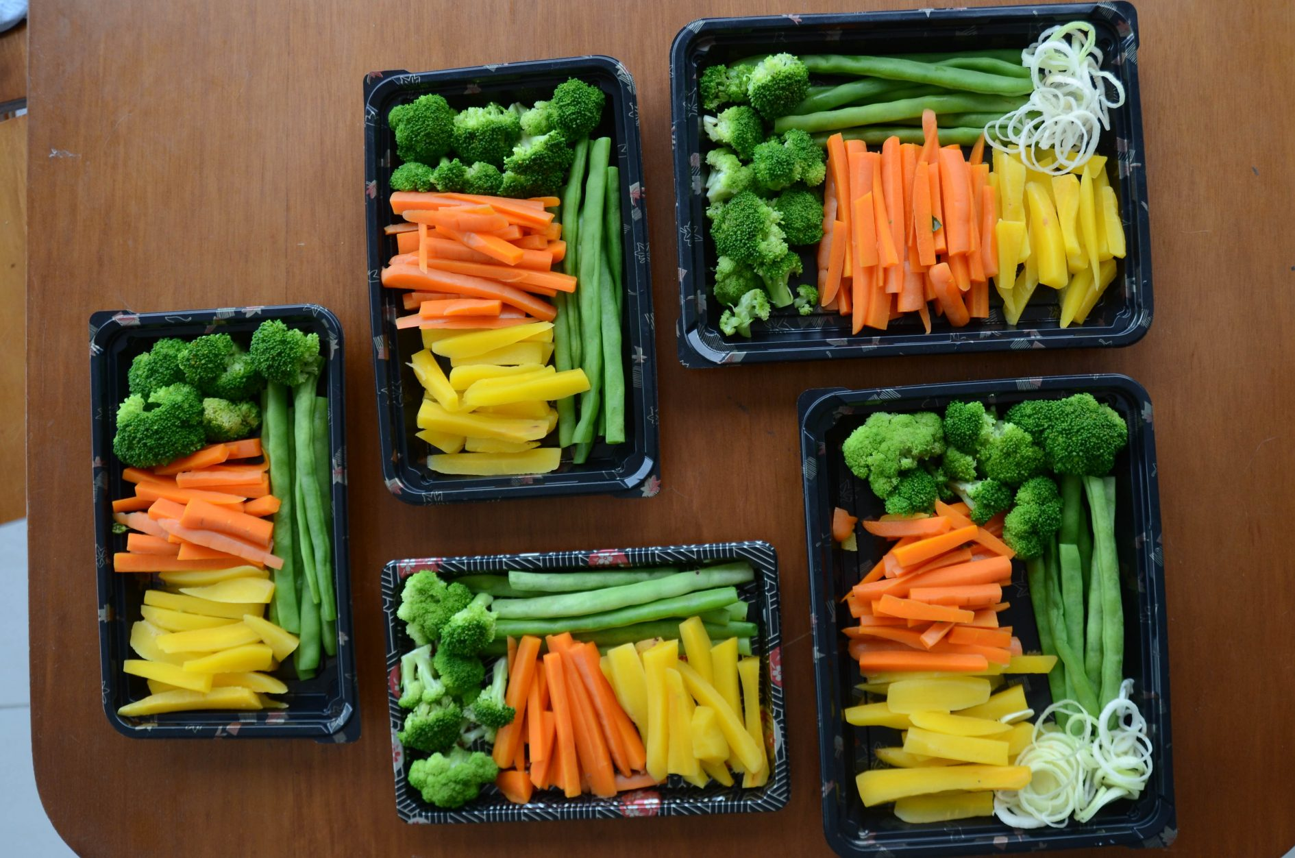 como preparar legumes para a semana - cozinhar em lote e congelar