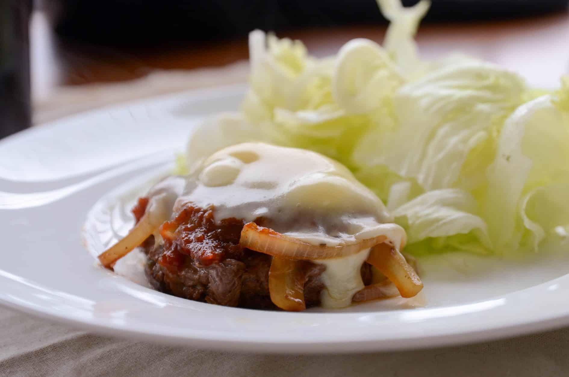 receita de hamburguer barbecue com queijo