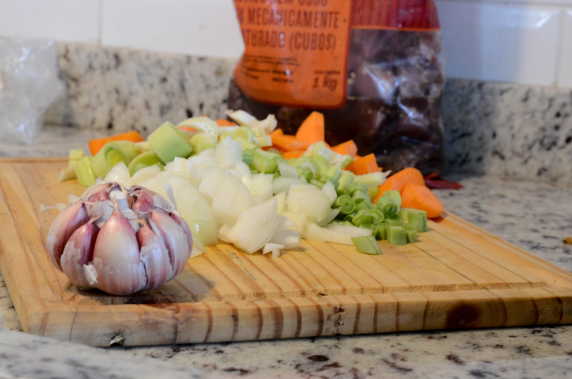 como preparar comida congelada para a semana