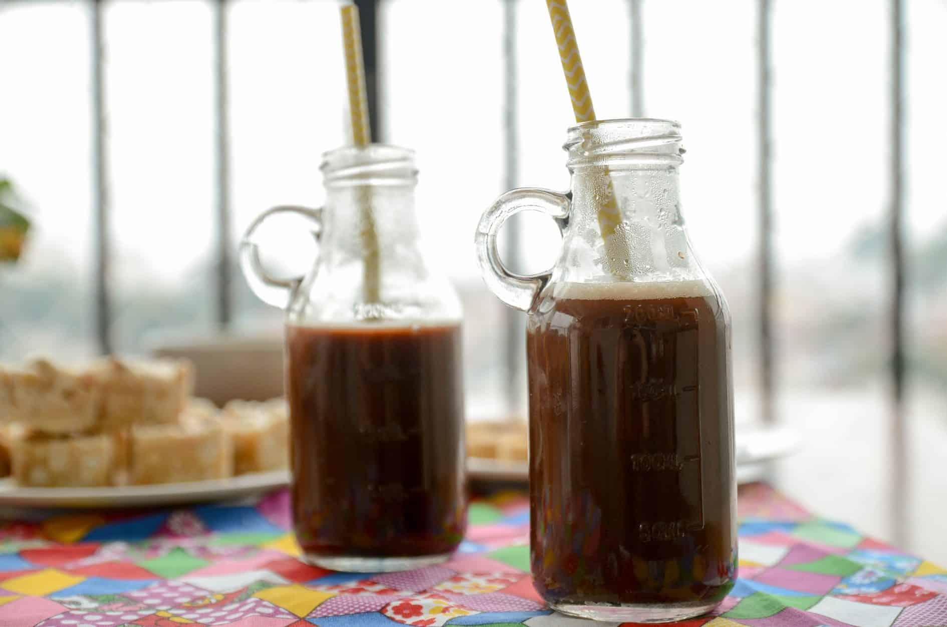 Receita de chá de chocolate e canela, receita fácil de bebida para festa junina