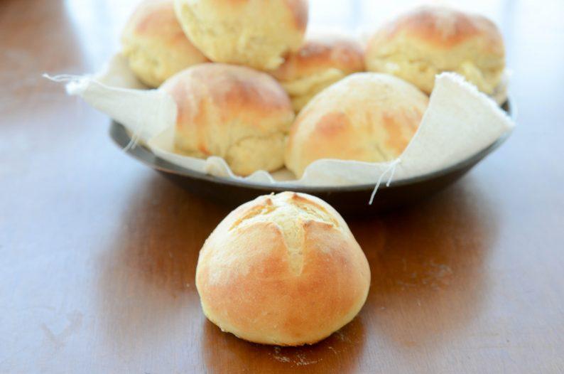 pão de batata - receitas para o café da manhã