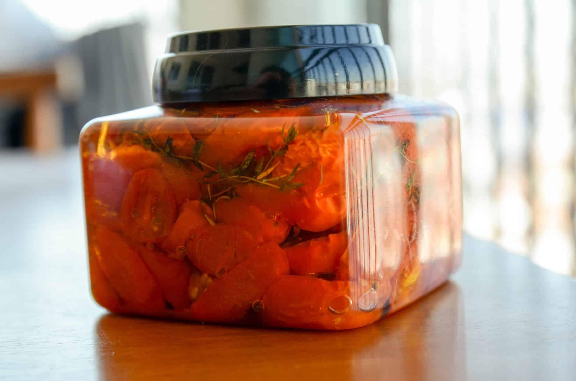 Tomate cereja assado – Na cozinha das amigas