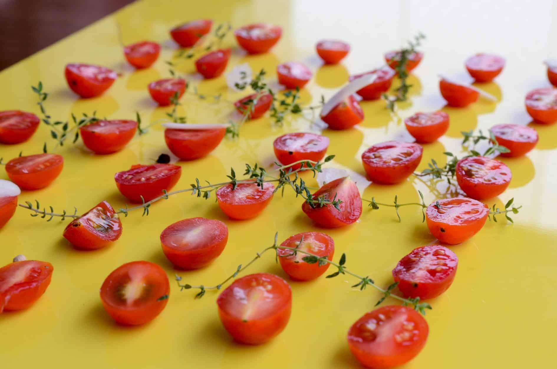 receita de tomatinho assado