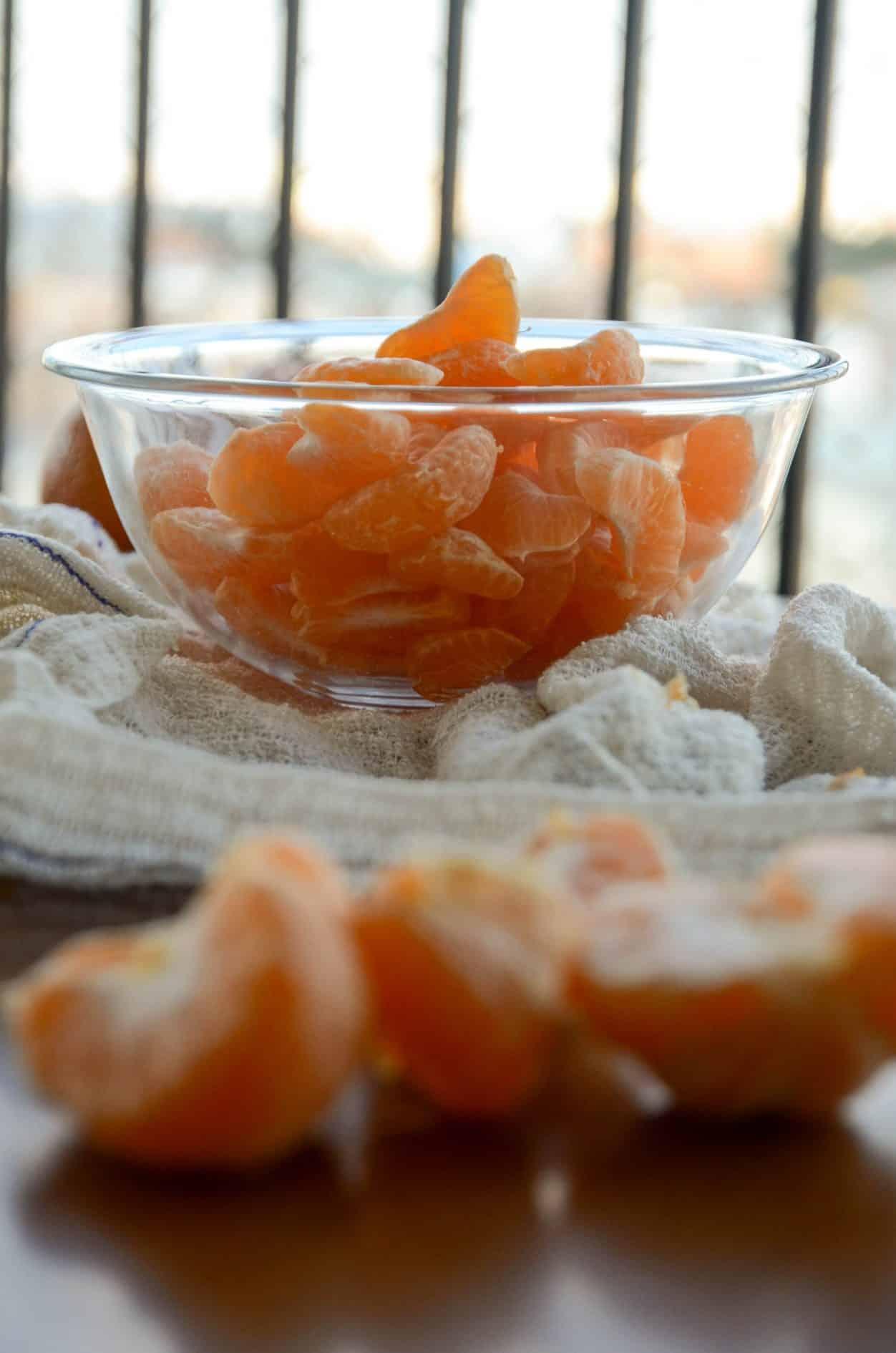 receita de tangerina em calda