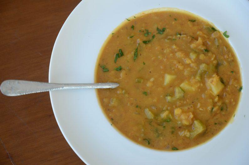 receitas com lentilha - sopa de lentilha
