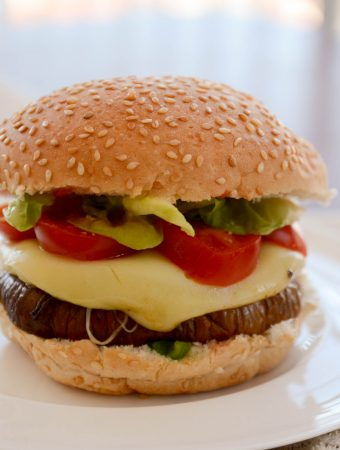 Receita de hamburguer de berinjela - hamburguer vegetariano