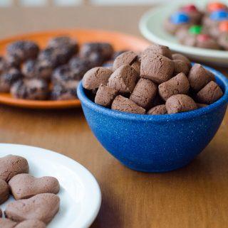 Receita de biscoitinho de maizena de chocolate