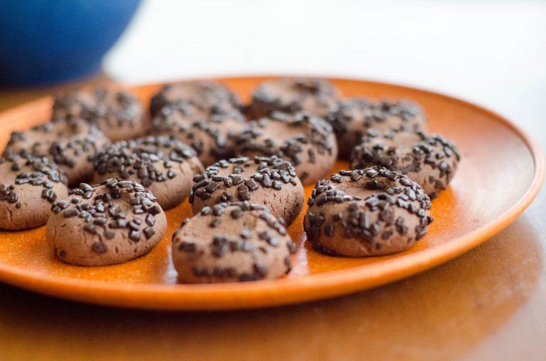 Receita de bisacoitinho de chocolate fácil