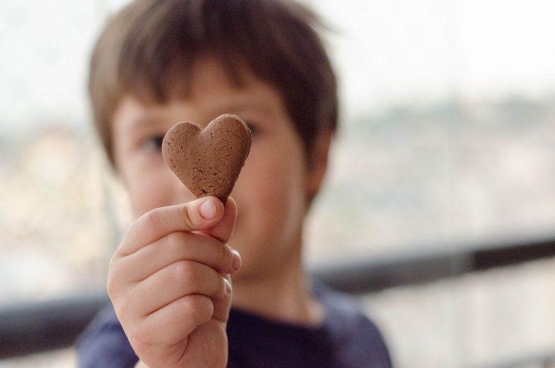 biscoito fácil de chocolate