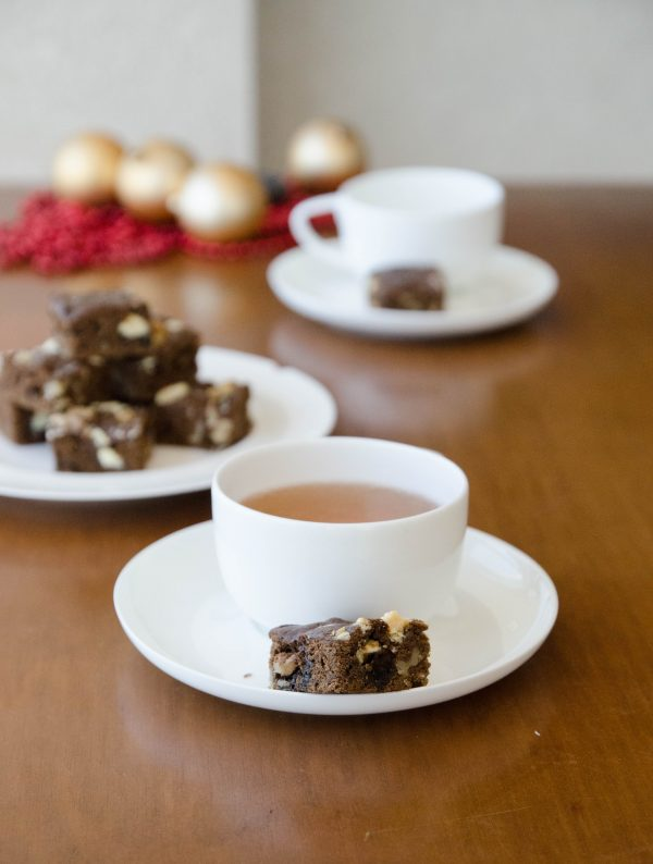 receita de brownie de chocolate duplo