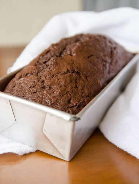 Bolo de Abobrinha e Chocolate