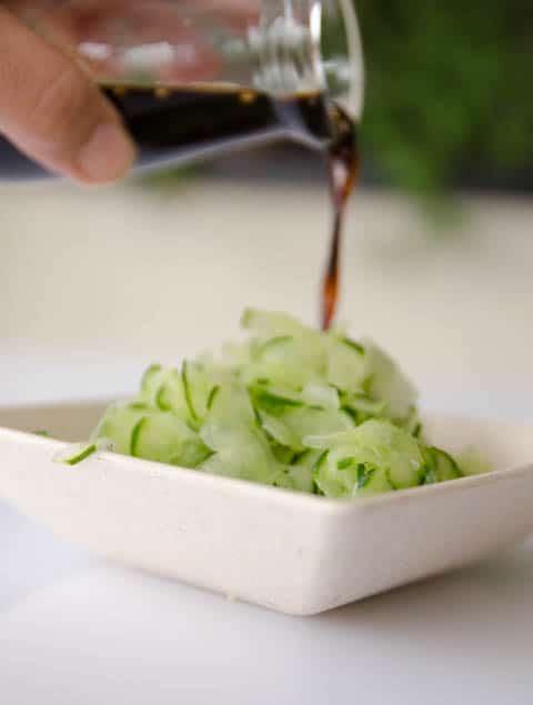 receita de salada de pepino japonesa - sunomono