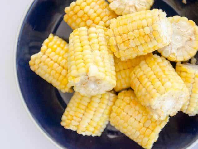 Milho verde cozido na Airfryer em 15 minutos