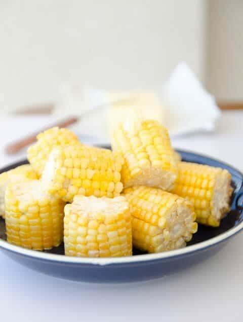 receita de milho verde cozido na airfryer