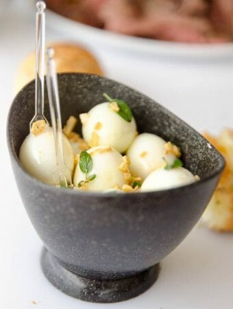 Receita de ovo de codorna temperado, rápido e fácil