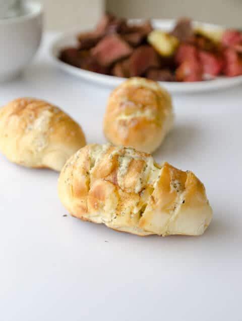 receita de pão de alho e queijo caseiro
