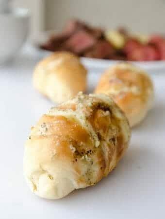receita de pão de alho com queijo caseiro