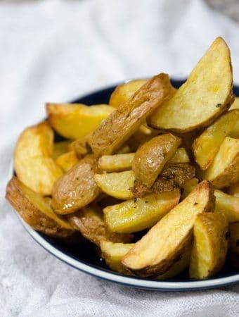 receita de batata frita crocante feita na airfryer