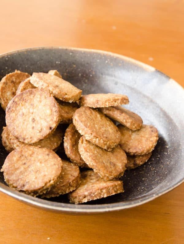 biscoito integral de aveia e açúcar mascavo