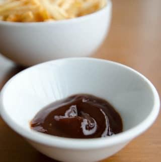 ketchup com balsamico e mel