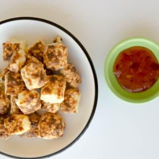 receita de dadinhos de tapioca na airfryer