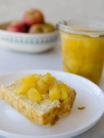 receita de doce de maçã com laranja caseiro