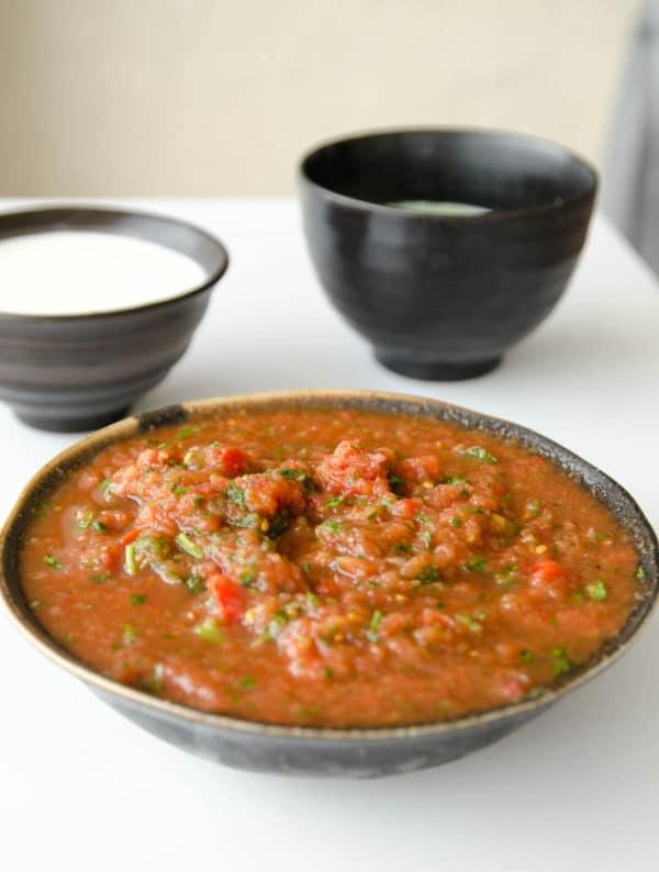 salsa mexicana para comer com doritos