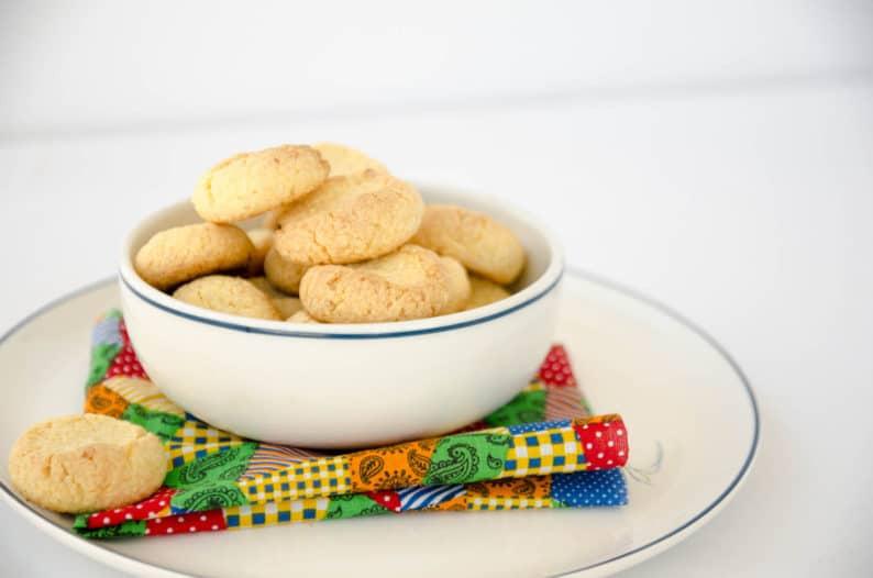 biscoito de fubá