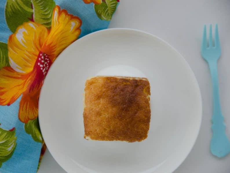 receita fácil de bolo batido à mão - bolo atoa